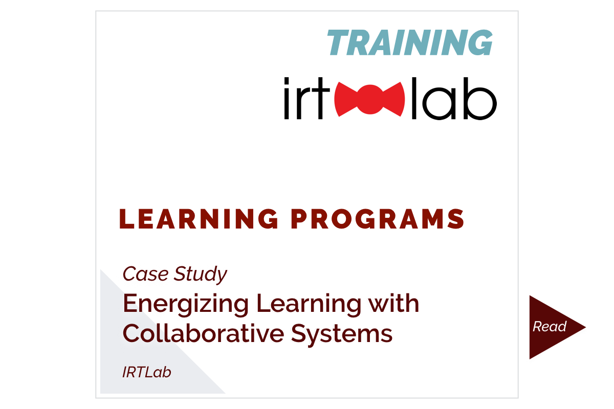 Energizing Learning with Collaborative Systems (IRTLab)